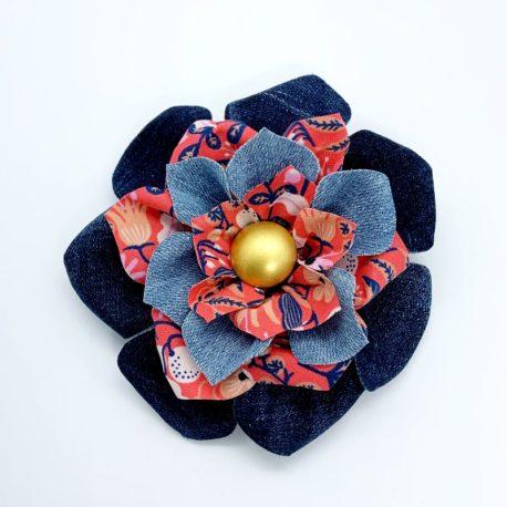 Barrette fleur 2